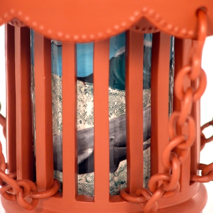 Caged Cake Stand_Detail Whale