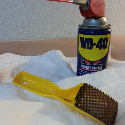 Clean your tools.